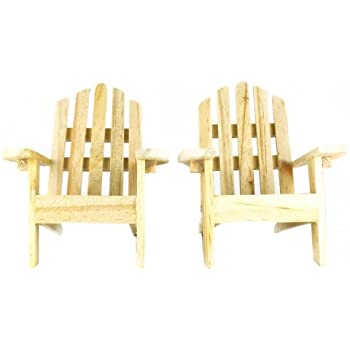 Amazon Com Mini Adirondack Chair Cake Topper Set Of 2