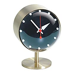 Vitra Men's George Nelson Night Clock, Black, One Size