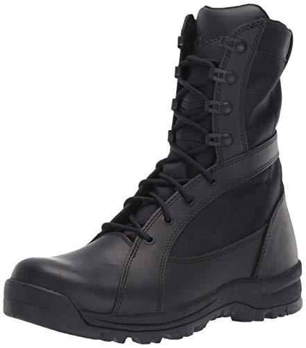 Danner Women's Prowess Side-Zip Military and Tactical Boot Black 7 M ()