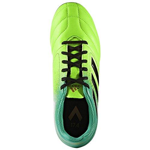 Adidas aCE 17.4FXG J–Chaussures montantes de fútbolpara enfants, vert–(Versol/negbas/verbas), -30