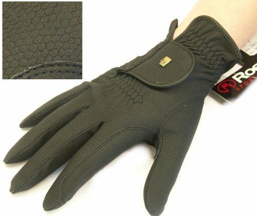 Roeckl Roeck-Grip Unisex Gloves 8.5 Black