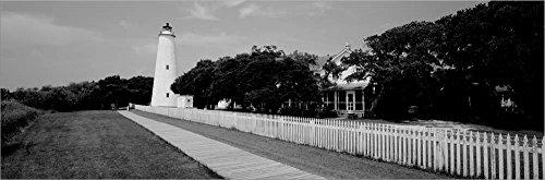 - Ocracoke Lighthouse, Ocracoke Island, North Carolina by Panoramic Images Laminated Art Print, 52 x 17 inches