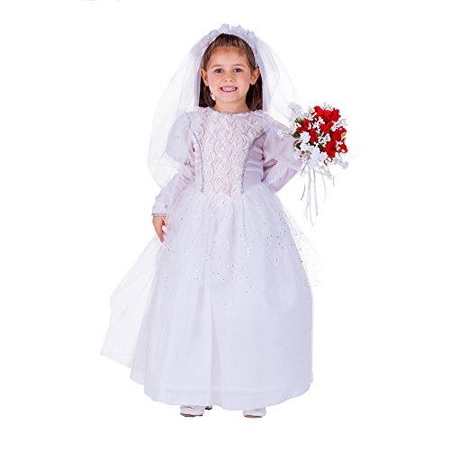 Shimmering Bride - Size Toddler 4 ()
