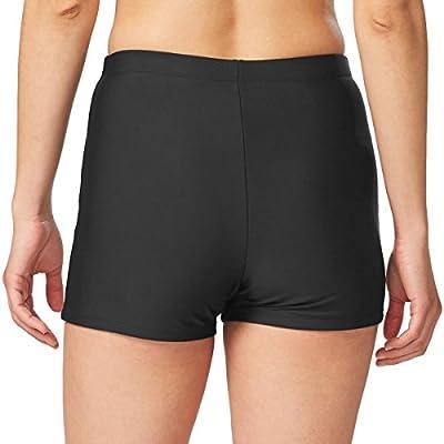BALEAF Women's Basic High Waisted Boy Short Swim Bikini Tankini Bottom with Liner: Clothing