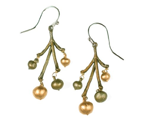Michael Michaud for Silver Seasons Retired String of Beads Wire Earrings 4983