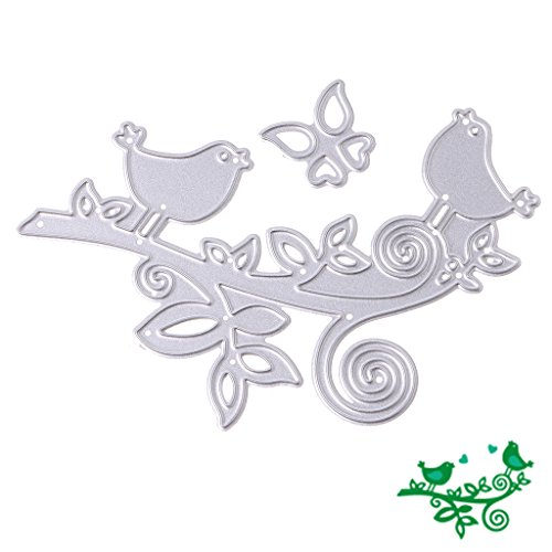 SCASTOE Metal Bird Cutting Dies Stencil DIY Scrapbook Album Paper Cards Embossing Decor