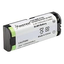eForCity® 2x 2.4V Ni-MH Battery Compatible with Panasonic HHR-P105 HHRP105