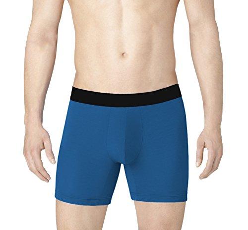 Undies Supply Co. LUX365 Mens Premium Micro-Modal Boxer Briefs (3X Softer Than Cotton, 50% More Breathable)