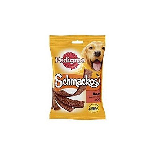 - Pedigree Schmackos Dog Treats with Beef 20 Stick (172g)