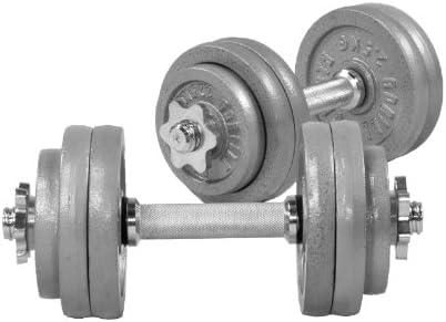 30/kg Gris Gorilla Sports Adultes 30/Fonte Lot dhalt/ères