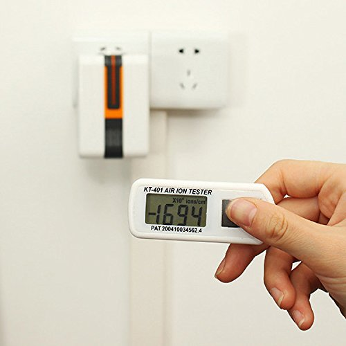 Bazaar KT-401 Mini Air Ions Tester Negative Oxygen Anion Concentration Detector Aeroanion Meter