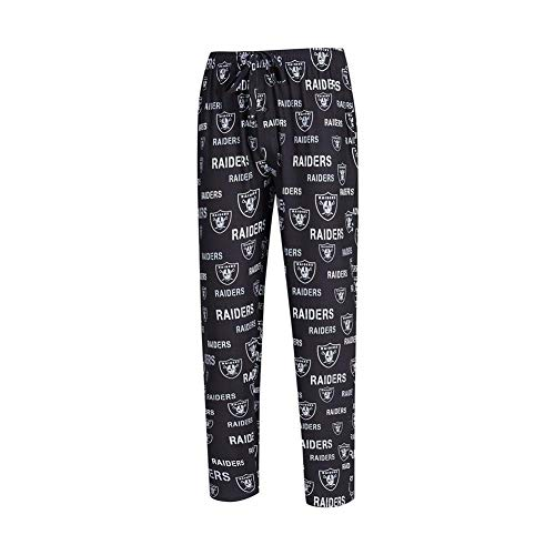 Concepts Sport Oakland Raiders Men's Pajama Pants Midfield Sleep Pants (Medium)