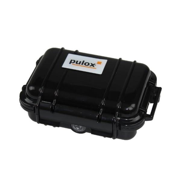 Pulox PO-100 - Oxímetro, pantalla LCD, incluye accesorios, color negro 8