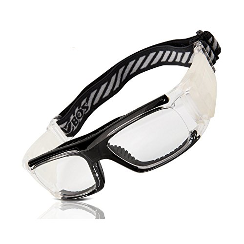 5d8a90f0a084 RIVBOS 1833 Safety Sports Glasses Protective Sports Goggles with Strap and Portable  Case for Basketball Football Hockey Rugby Baseball Soccer Suitable for ...