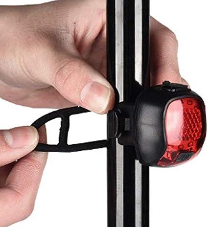 luz trasera para bicicleta luz de carretera Kamenda Luz trasera inteligente para bicicleta de monta/ña