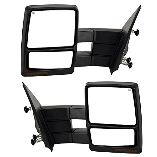 dedc ford f150 2007 2014 towing mirrors power function. Black Bedroom Furniture Sets. Home Design Ideas