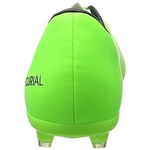 Nike Kids Jr Mercurial Victory VI Fg Soccer Cleat 3.5 / Electric Green