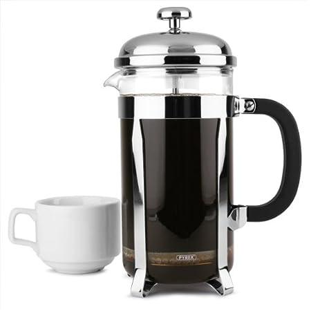 Chrome 8 taza cafetera | 32 oz 1000 ml de café cafetera, cafetera ...