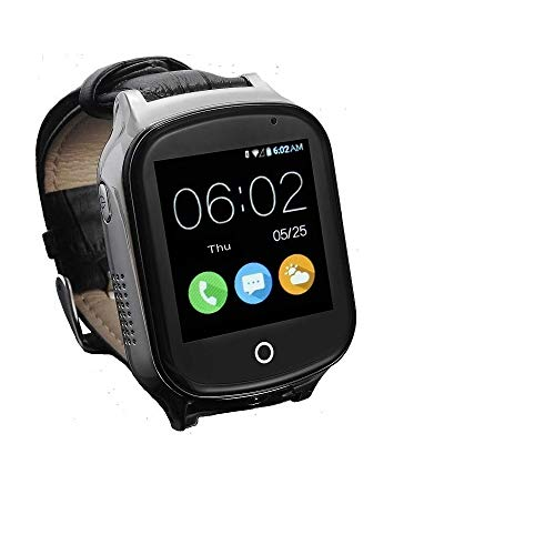 3G GPS Watch for Kids Elderly,WiFi Phone Call, KKBear Real-time Tracking, Geo-Fence Touch Screen Camera SOS Alarm Anti…