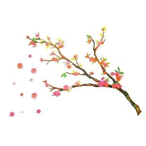 Cherry Blossom Decorative Vinyl Wall Art Sticker Decal