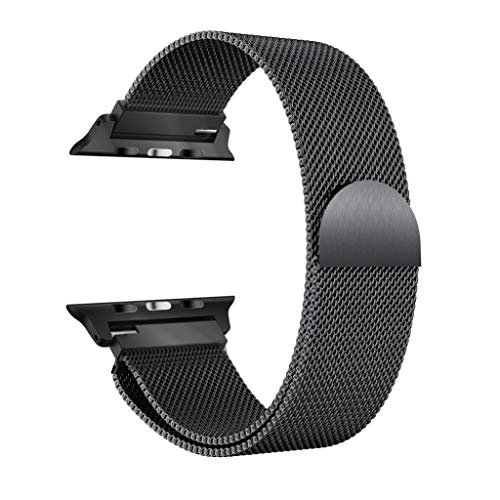 Amazon.com: Compatible Apple Watch Series 4 Band Milanese ...