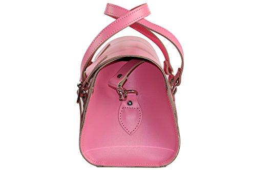 British nbsp;borsa Pink Stile Anu® Inghilterra Wc6 Mano Donna nbsp;nbsp;fatto Vera In Pelle A wq7Y5n7A