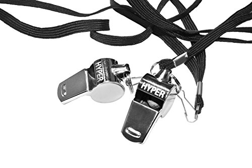 Premium Stainless Steel Whistle Set – 2 Extra Loud Pro-Grade by Unknown