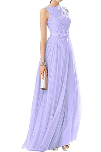 Spitze Festlichkleider mia La Langes A Linie Rock Abendkleider Braut Lilac Tuell Damen Rosa Promkleider Abschlussballkleider wIqxROgq