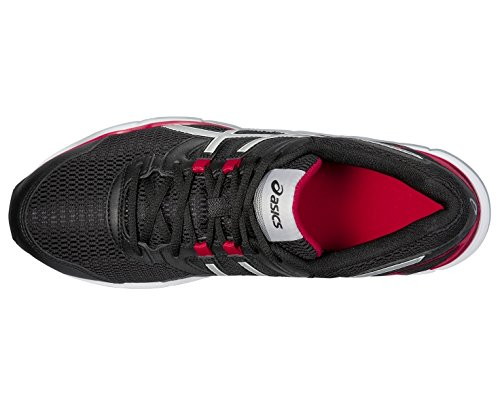 Asics Gel-galaxy 8 - Zapatillas de running Hombre Onix / Plata / Rojo