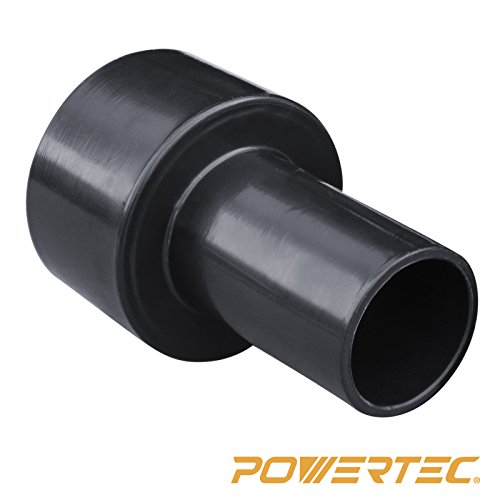 POWERTEC 70138 2-1/2-Inch to 1-1/2-Inch Reducer (Collection Reducer)