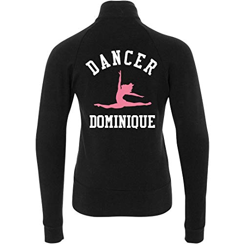 FUNNYSHIRTS.ORG Ballet Dancer Dominique Jacket: Youth Boxercraft Practice Jacket Black