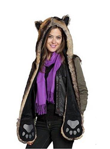 polar bear fur coat - 3