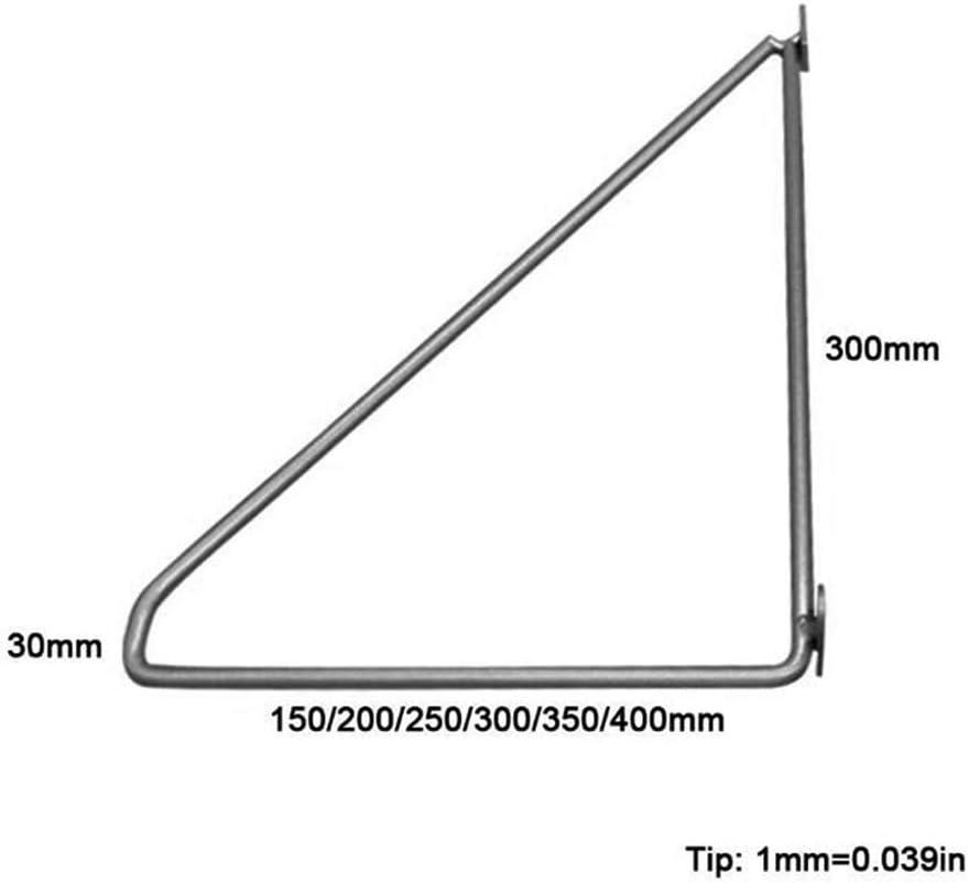 ba/ño Bar Soportes Estantes 2 Piezas Estantes Escuadras Decorativo OWUV Soporte Triangular Negro Soporte de /ángulo Recto de 90 Grado T Puesto de Flores Soporte para Estanter/ías Metal Cocina