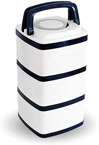 Nfudishpuランチボックスランチボックスは、スープで満たすことができます多層ボックス304ステンレス鋼大容量真空長時間保温10時間