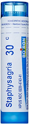 Boiron Staphysagria 30C, Homeopathic Medicine for Surgica...