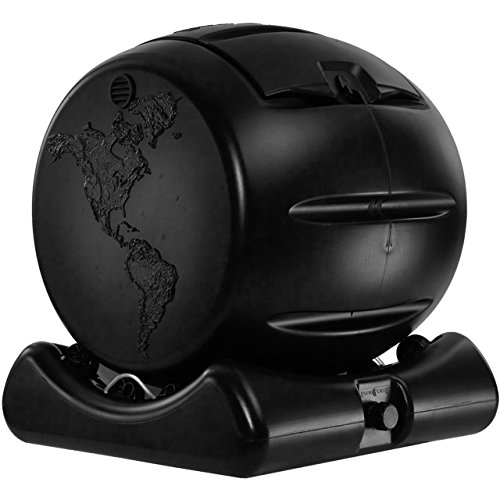 Envirocycle The Cutest Composter In The World Made In The Usa Food Safe Bpa And Rust Free No Assembly Required Mini Composting Tumbler Bin And Compost Tea Maker