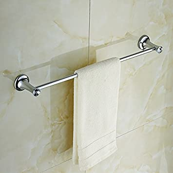 JISHUQICHEFUWU JiSuQiCheFuWu Badezimmer Handtuchhalter Swarovski ...