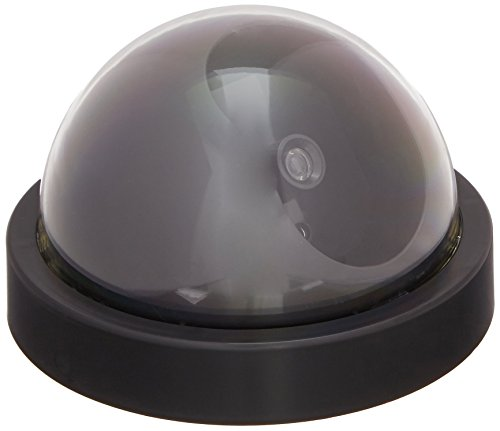 Streetwise Security Products Dome Dummy Camera with Flashing LED Light