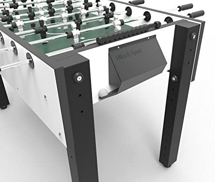 Ullrich-deporte Puerta de metal para Futbolín Puerta Para Futbolín Portería Para Fútbol de mesa puerta de Kicker para la Modelos