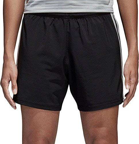 adidas Women's Condivo 18 Soccer Shorts, Black/Stone, Large by adidas