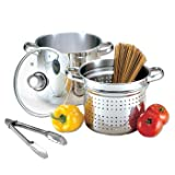 Welco 4 Piece Pasta Pot - 5.5 Quart