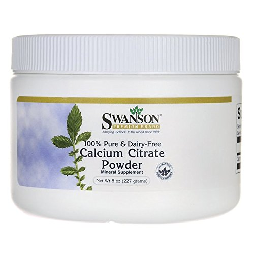 Swanson Dairy Free Calcium Citrate Powder