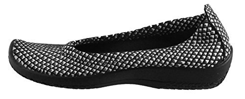get authentic sale online Arcopedico Women's L15D Slip On Loafers Shoes Black/White low shipping fee sale online uESxVE