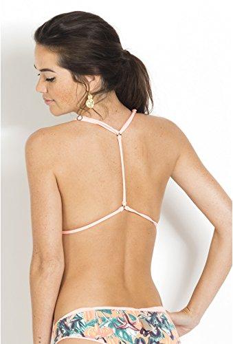 MAAJI - Top de bikini - para mujer Coral