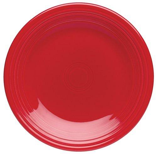 (Fiesta 10-1/2-Inch Dinner Plates, Set of 4,)
