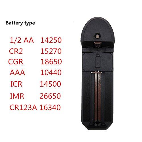 Batería Recargable de litio-ión wenxy universal battery charger Cargador de Speedy Smart para baterías 1/2AA...