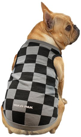 YakPak Hund Shirt, XS, grau schwarz kariert: Amazon.de: Haustier