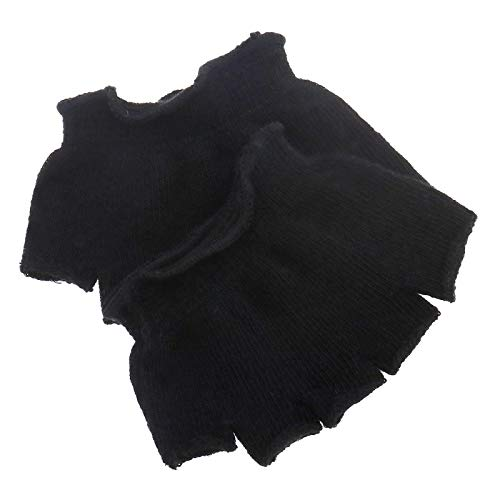 Creative-Idea Toes Socks Foot Finger Separator Socks Cotton Half-Fingered Five-Toed Socks Comfortable Cotton Forefoot Support Black