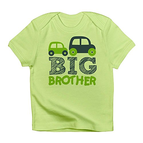 - CafePress - Big Brother Car 7D - Cute Infant T-Shirt, 100% Cotton Baby Shirt