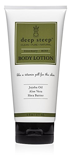 Deep Steep Body Lotion, Rosemary Mint, 6oz